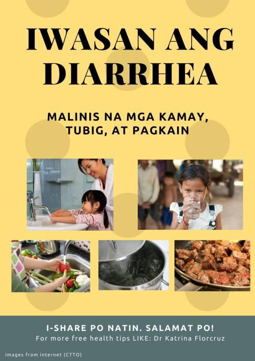 DrKatrinaFlorcruzPH_Diarrhea-iwasan